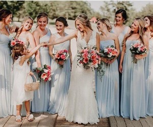 album, bride, and dress image