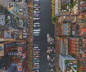 city, amsterdam, and place image