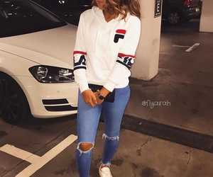 clothes, Fila, and luxury image