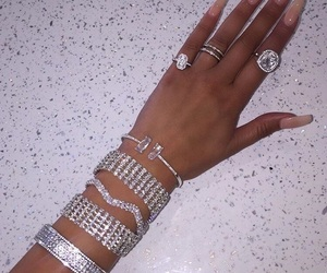 bracelets, chic, and rings image