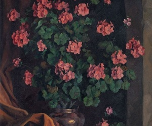 art, roses, and spring image
