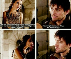 couple, romance, and reign image
