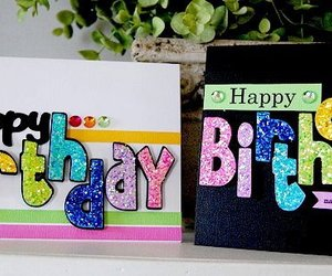 crafts, birthday cards, and diyideas image