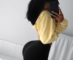 big ass, booty, and fitness image