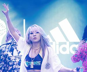 2ne1, CL, and adidas image