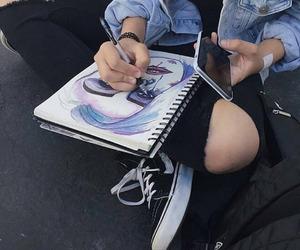 art, draw, and grunge image