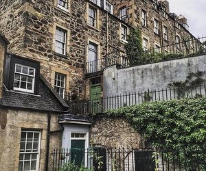 castle, edinburgh, and Great Britain image
