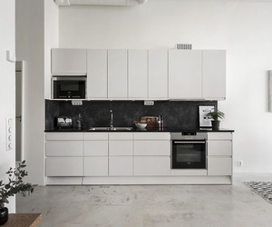 bedroom, home decor, and kitchen image
