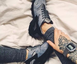 nike, watch, and befit image