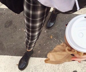 boots, coffee, and fashion image