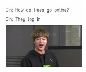 funny, online, and jin image