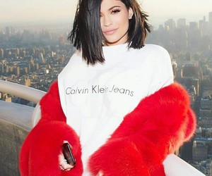 Calvin Klein and kylie jenner image