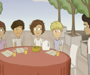 one direction, cartoon, and liam payne image