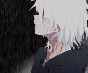 drawing, hope, and rain image