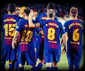 Barca, football, and players image
