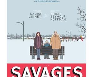art, savages, and philip seymour hoffman image