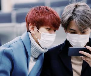 aesthetic, baekhyun, and beautiful boys image