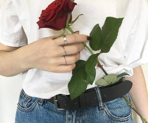 alternative, rose, and aesthetic image