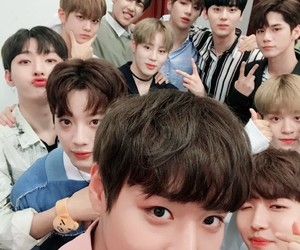 wanna one, kpop, and produce 101 image