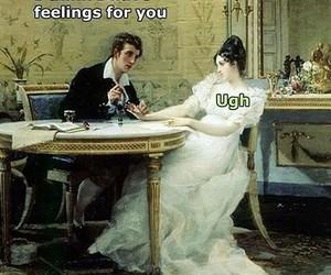 feelings, ugh, and vintage image