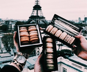 paris, food, and travel image