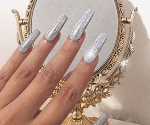 acrylic, nail goals, and beauty image