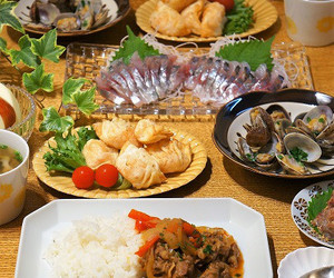 dinner, food, and japanese image