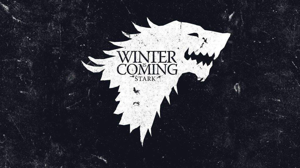 game of thrones, stark, and winter is coming image