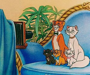 animation, cats, and disney image
