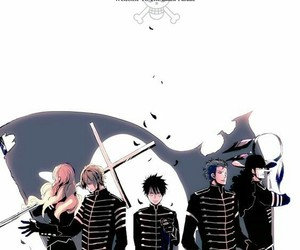 anime, my chemical romance, and one piece image