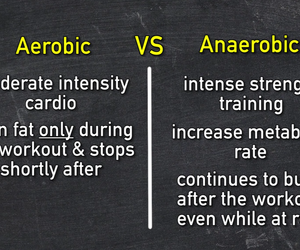 aerobic, diet, and fitness image