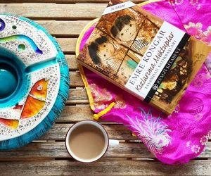 books, coffee, and nescafe image