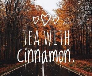 autumn, Cinnamon, and drinks image