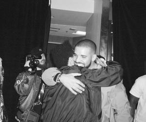 backstage, Drake, and friendship image