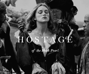 black and white, hostage, and keira knightley image