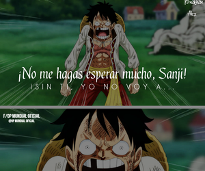 one piece, one piece luffy, and one piece sanji image