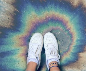 arcoiris, hipster, and pies image