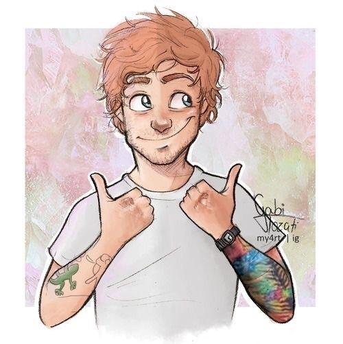 ed sheeran, art, and draw image