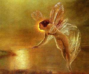 fairy, art, and John Atkinson Grimshaw image