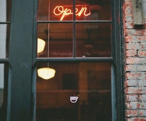 open, vintage, and hipster image