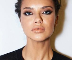model, Adriana Lima, and style image