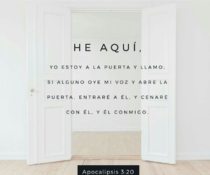 god, dios, and puerta image