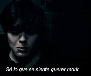 frases, gif, and muerte image