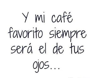 love, frases, and cafe image