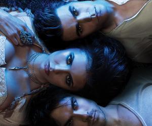 ian somerhalder, Nina Dobrev, and promo image