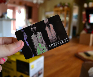 forever 21 and card image