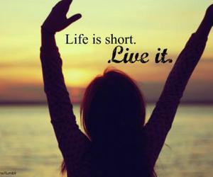life, live, and quote image