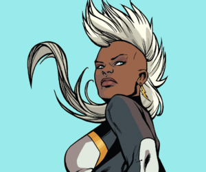 Marvel, storm, and ororo munroe image