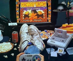 game, 90s, and video games image