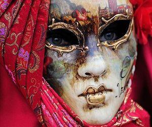 mardi gras, photography, and mask image